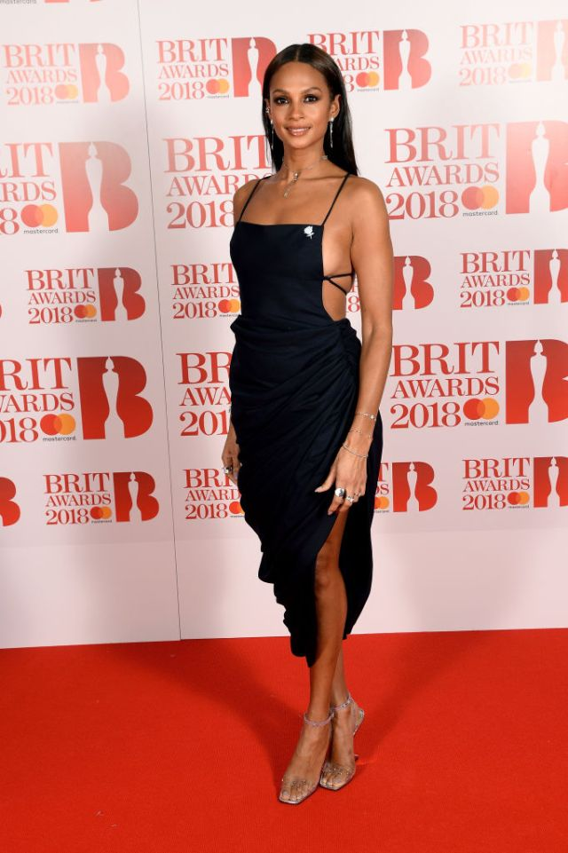 Celebrity Red Carpet Photos At 2018 BRIT Awards