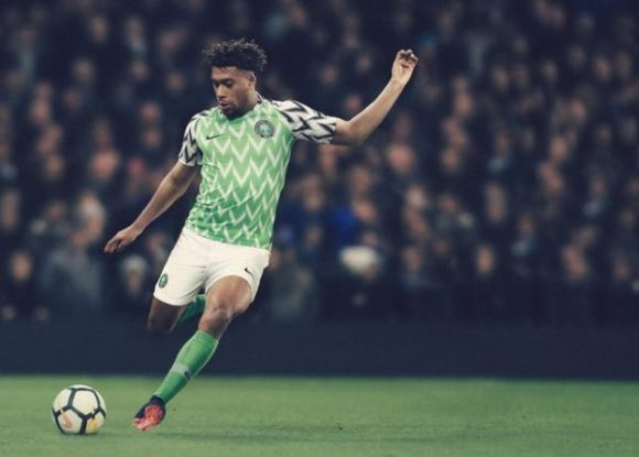 Watch Behind the Scenes of the reveal of Nigeria's beautiful World Cup Kit - BellaNaija