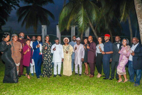Osinbajo meets with Stakeholders of Nigerian Entertainment Industry | BellaNaija