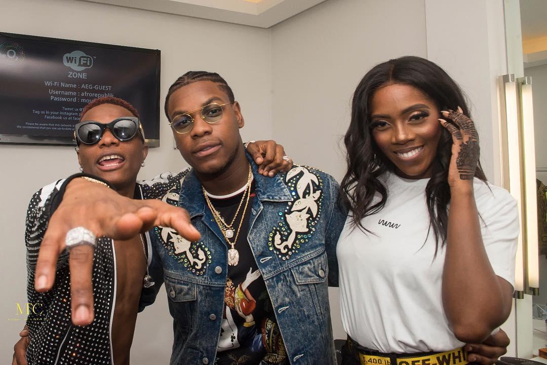 Winning! Naomi Campbell, Michael Dapaah, John Boyega attend Wizkid's #Afrorepublik Concert