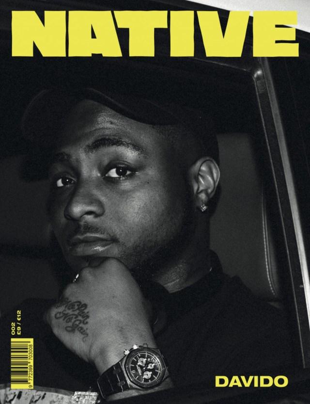 Image result for native cover magazine davido