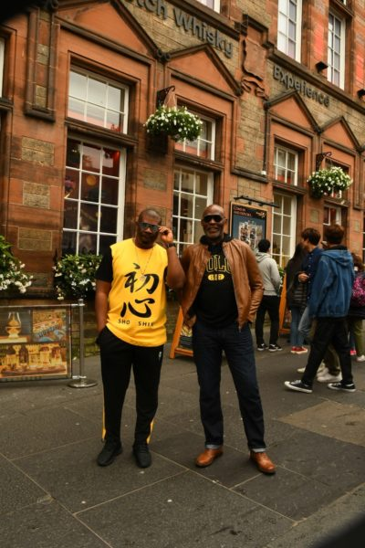 RMD and Don Jazzy in Scotland