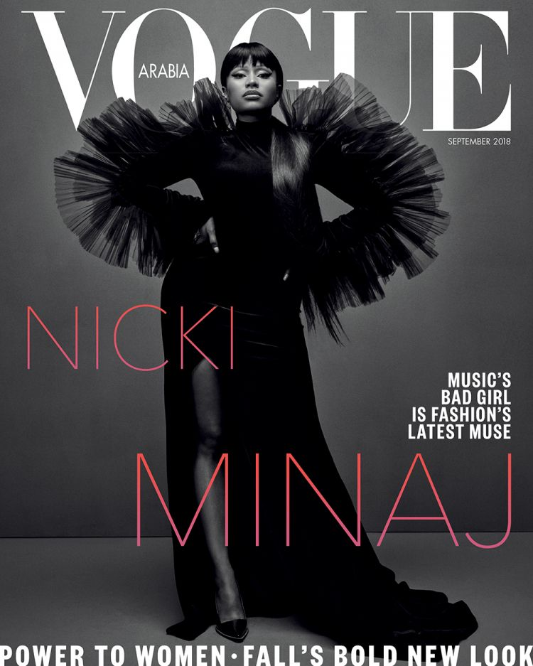 Nicki Minaj Lands Her Vogue Cover Debut in Vogue Arabia