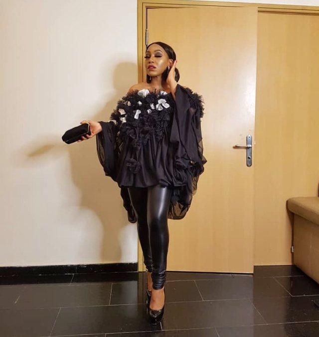 Rita Dominic makes an appearance at Lagos Fashion Week 2018