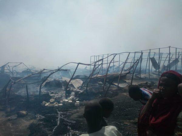 Children Allegedly Die in Borno IDP Camp Fire | BellaNaija