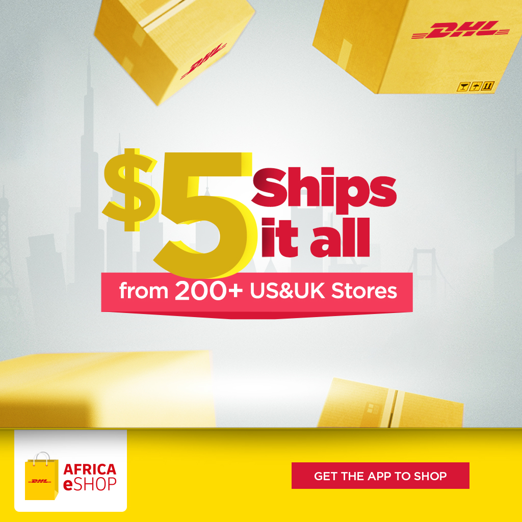 Here's How You can Shop from Your Favourite Stores Abroad & Ship for Only  with the New DHL App