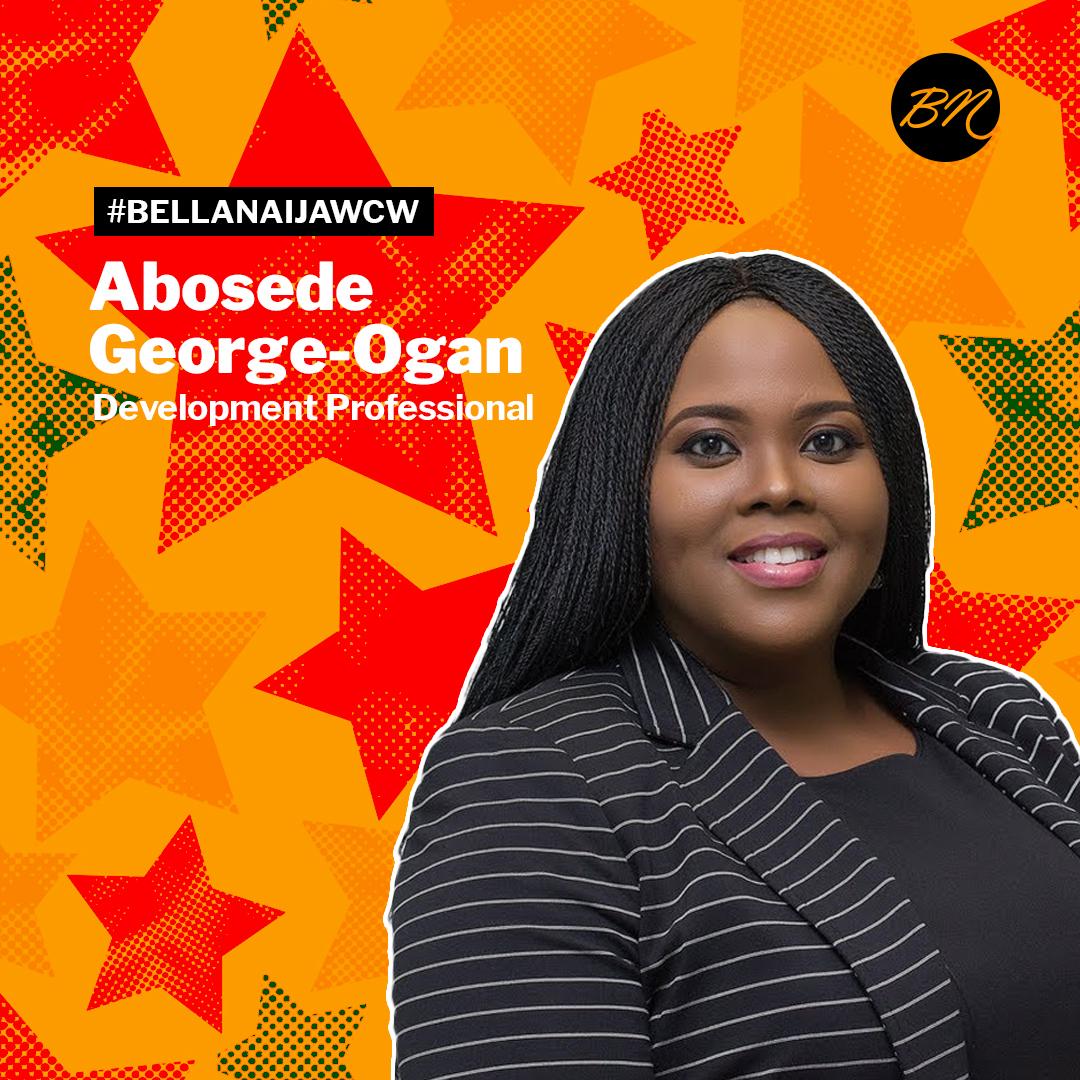 Development Professional Abosede George-Ogan is #BellaNaijaWCW this Week!