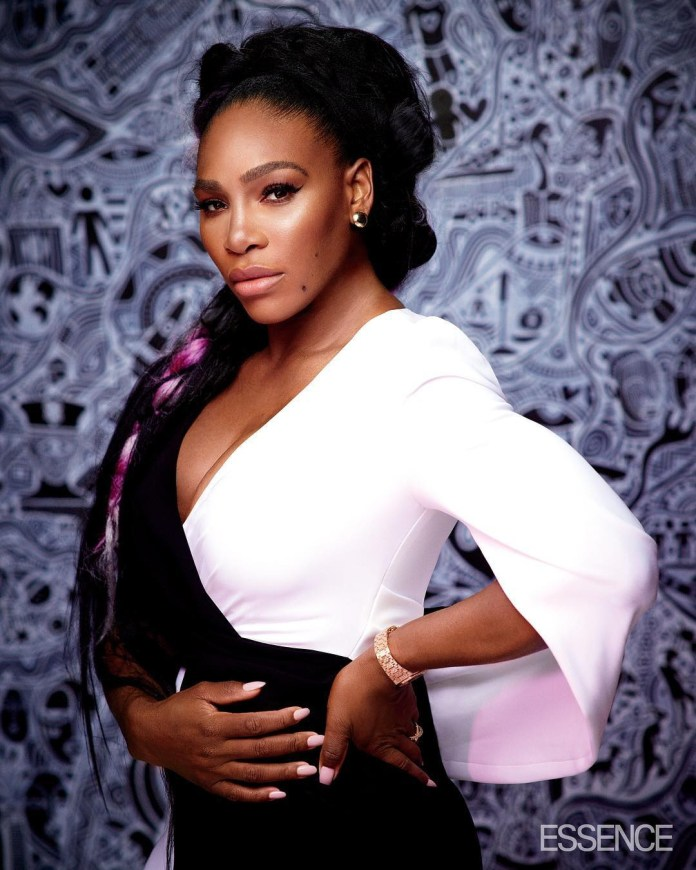 Serena Williams on the cover of Essence magazine