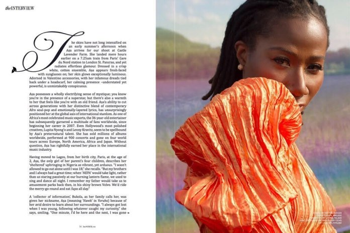 Asa is as Real as Ever Talking About her Personality, Love & Dating, and Being a Woman with Schick Magazine