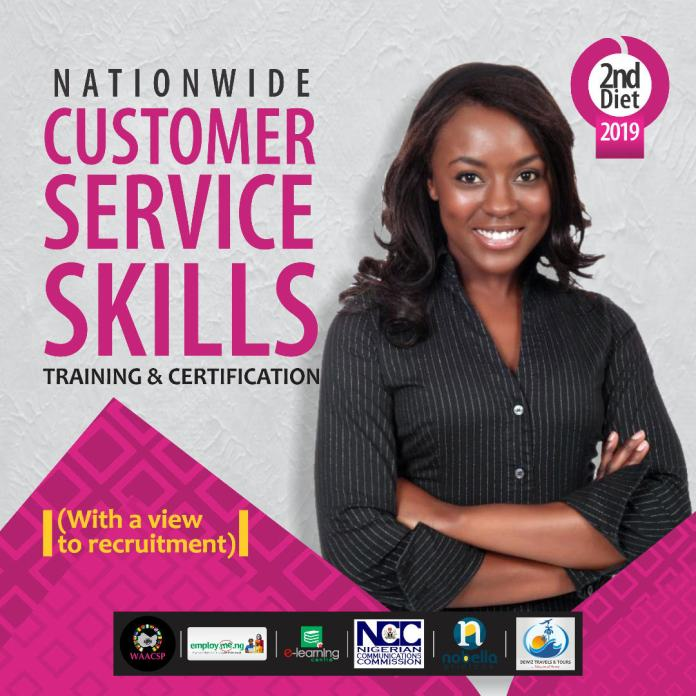 Get Certified at the Customer Service Skills Training by WAACSP   October 3rd – November 15th