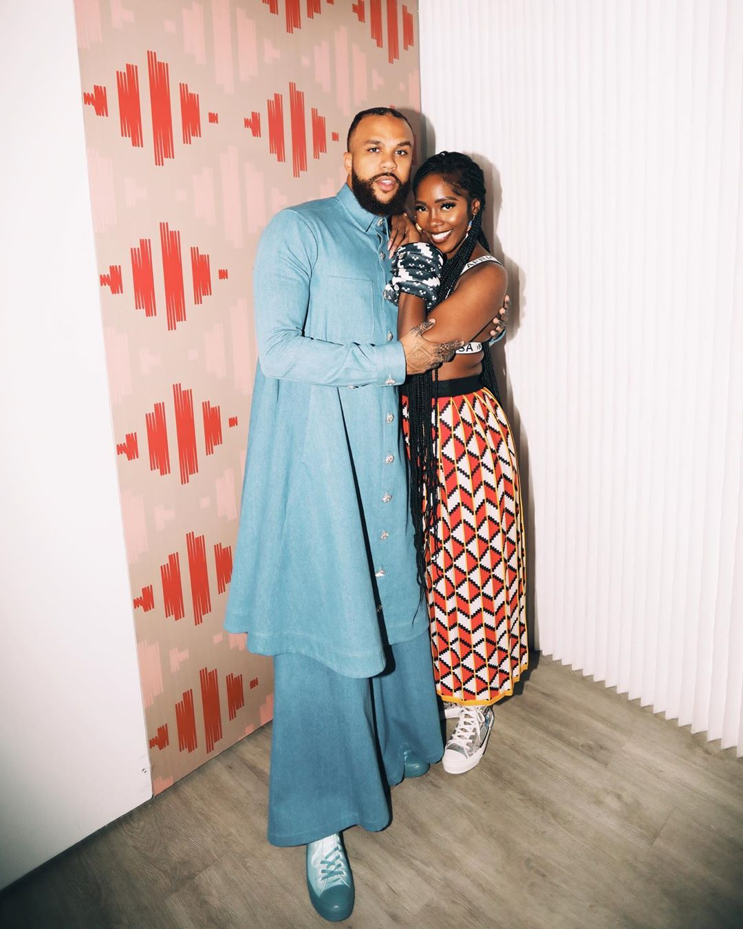 Tiwa Savage & Jidenna came through for Carmelo Anthony at Melo Made Showcase