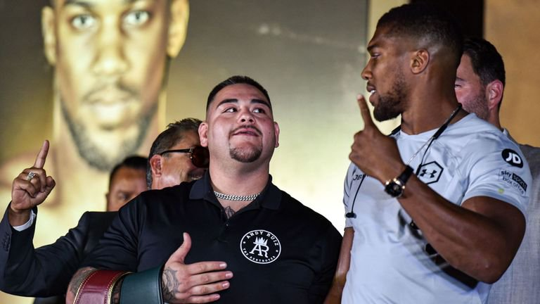 Andy Ruiz Jr. Vows to Beat Anthony Joshua in Rematch