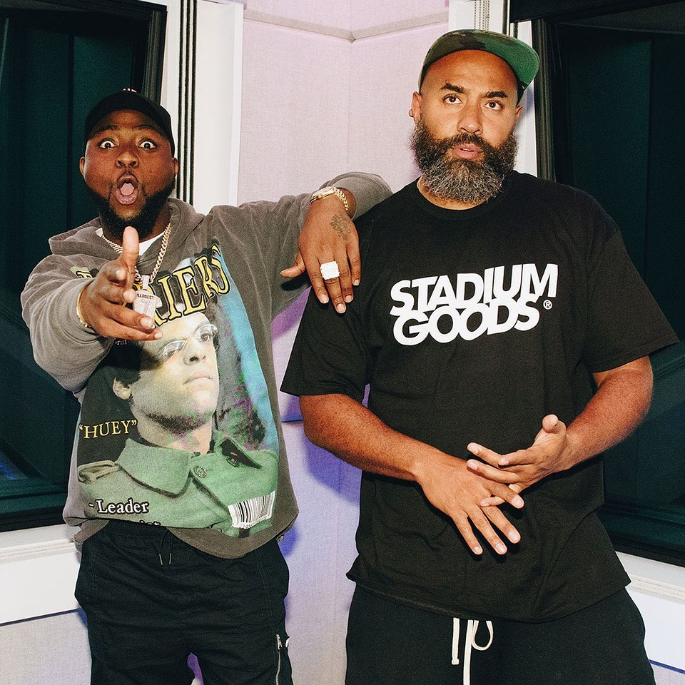 Davido is all about his Upcoming Album | WATCH this Interview with Ebro Darden on Apple's Beats 1 Radio