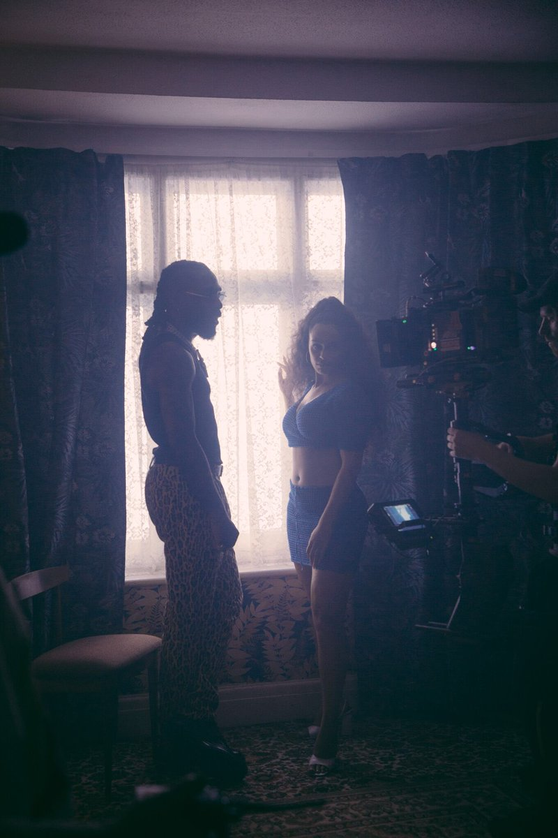 "Burna Boy's Video for ""Gum Body"" with Jorja Smith drops Tomorrow… But First, A Sneak Peek!"