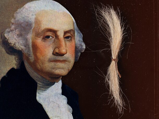 George Washington's Real Hair up for Auction