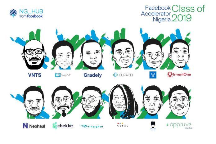 Facebook Accelerator Nigeria Unveils 12 Startups In 2019 Cohort