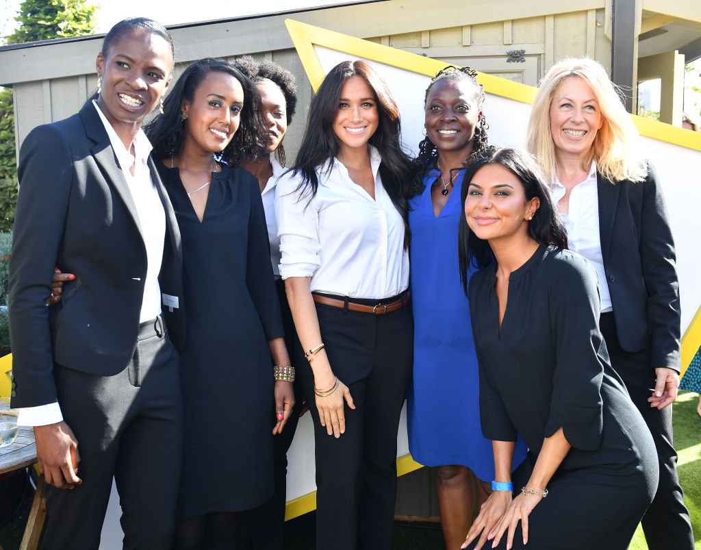 Meghan Markle, Duchess Of Sussex launches Smart Works Capsule Collection