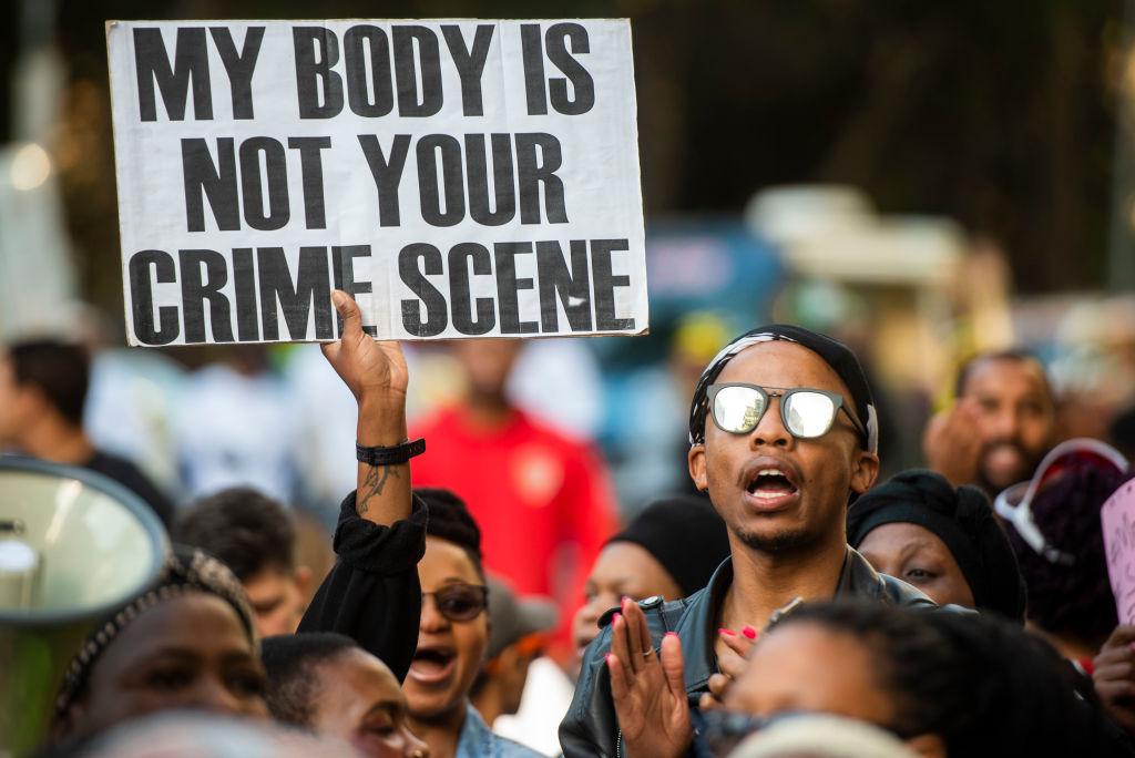 #SandtonShutDown: Protesters March against Gender-Based Violence in South Africa