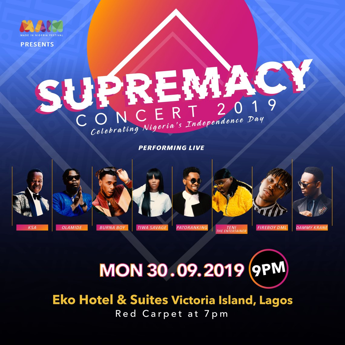 Independence Day Supremacy Concert