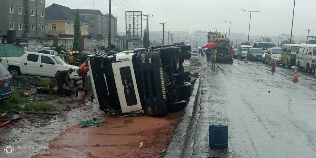 LASG assures Security after Loaded Petrol Tanker fell at Otedola Bridge
