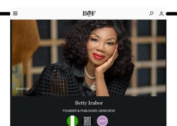 Betty Irabor, Adesuwa Aighewi, Kenneth Ize & Extra Africans Make The #BoF500 2019 Record!