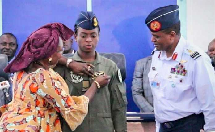 Nigerian Air Power wings First Feminine Fighter, Fight Helicopter Pilots, Decorates First Feminine Air Warrant Officer