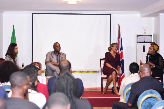 Kemi 'Lala' Akindoju, Tony Rapu, Chude Jideonwo, Funke Bucknor Obruthe join British High Commission to discuss Mental Health | See First Photos