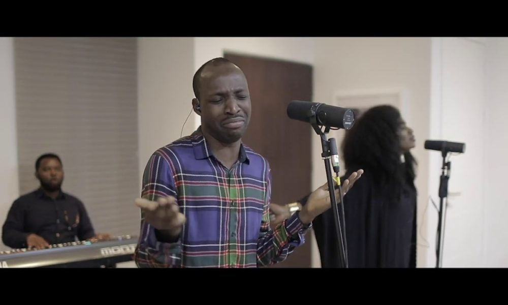 "WATCH TY Bellos Spontaneous Worship Session ""Liquid Love"" with Dunsin Oyekan"