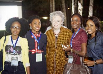 Deputy British High Commissioner hosts Fashion Entrepreneurs from the British Council Creative Enterprise Support Programme Abuja