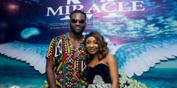 Noticed: Denrele Edun, Gbenro Ajibade, Moyo Lawal, Kiki Omeili at Belinda Effahs Miracle Movie Premiere