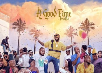 "We're ing Davido's Cover Art for Forthcoming Album ""A Good Time"""