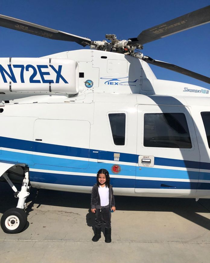 Kylie Jenner made Dream Kardashian feel on Top of the World – Literally with a Helicopter Ride for her Birthday