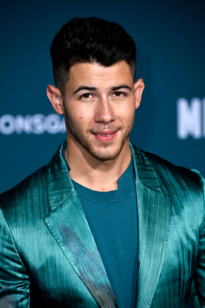 Nick Jonas In A Silk Go well with? Yes Please!