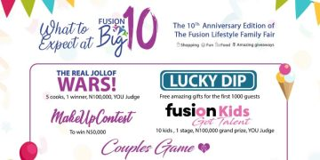 All Roads lead to The Fusion Lifestyle Family Fair in 2 weeks + Here's all you Should Expect