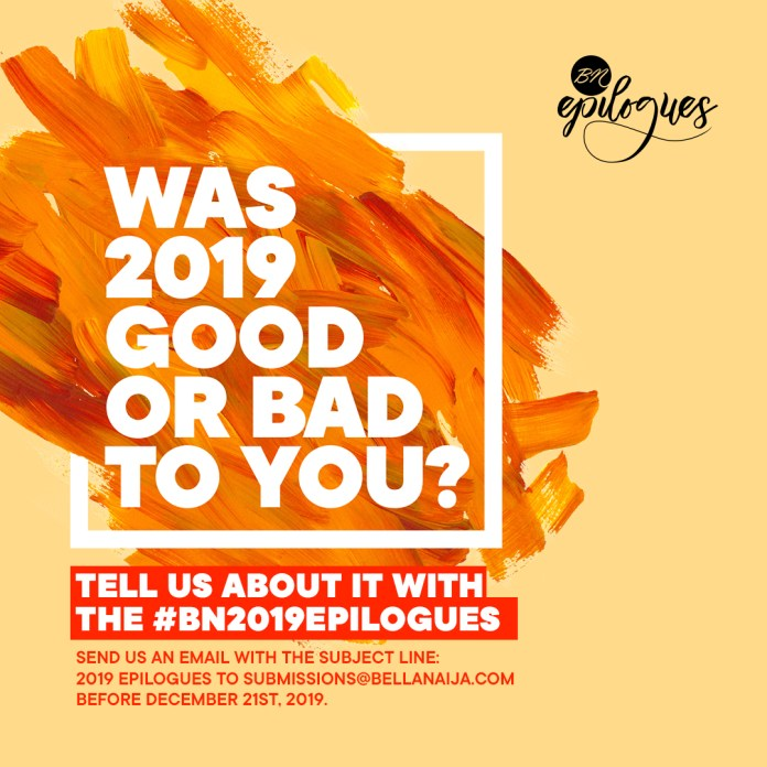 As The Year Draws To an Finish, We Invite You to Send Your Submissions for #BN2019Epilogues