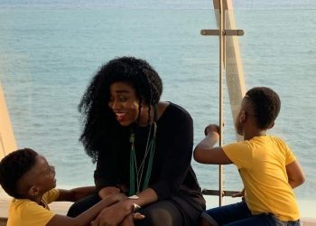 TY Bello is Grateful as her Twin Boys Turn 5