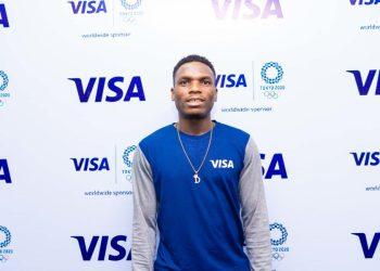 Team Visa Welcomes Nigerian Track  & Field Sprinter Divine Oduduru to their Tokyo 2020 Cohort