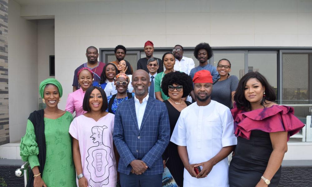 Sola Sobowale, Ajoke Silva, Alibaba, Don Jazzy, Omotola Jalade Ekeinde join Top Creatives at UNDP #CreateToDevelop Hangout