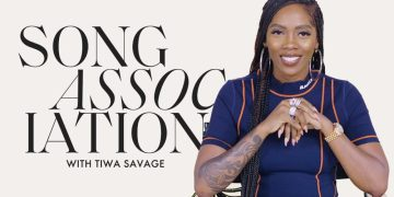 "Tiwa Savage Nailed her First Feature in Elle's ""Song Association"" 