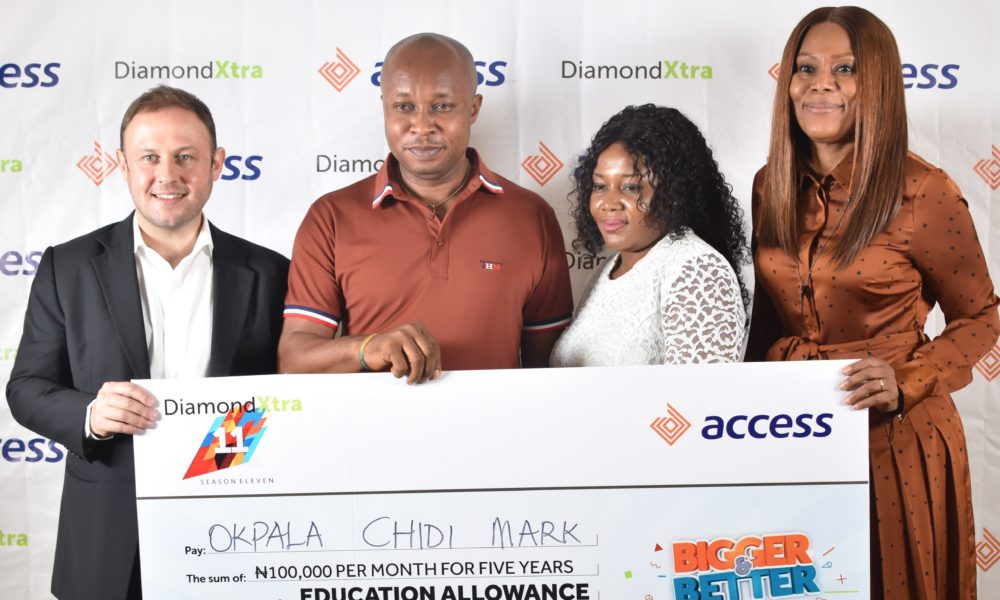 Okpala Mark alongside 1,044 Nigerians emerge as Winners in DiamondXtra Season 11