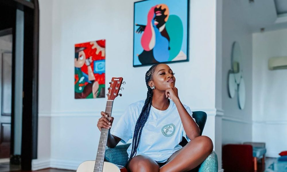 The Best Work From Home Fashion & Beauty Look, According To Ini Dima-Okojie
