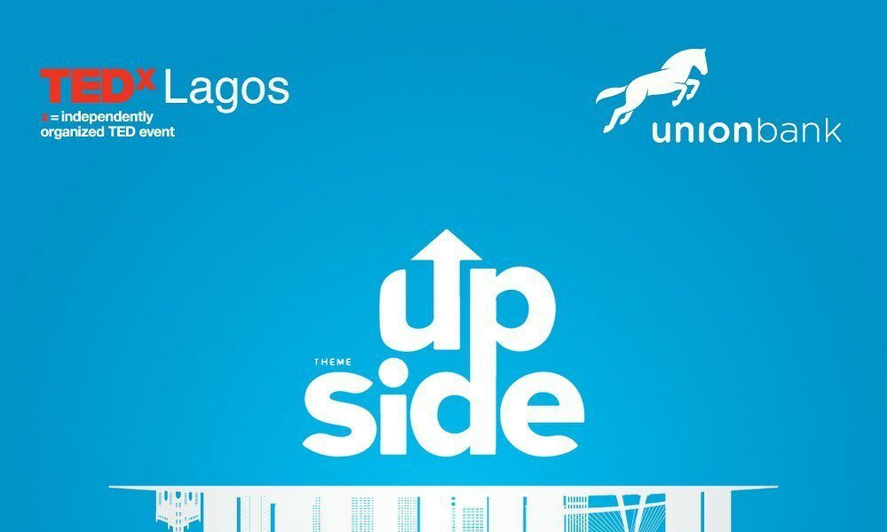 Union Bank set to co-sponsor the anticipated TEDxLagos Virtual Gathering themed 'Upside'   June 13th