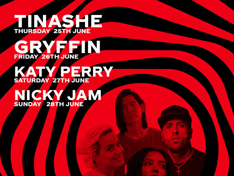 Katy Perry, Tinashe, Gryffin and more to Perform in this Weeks Coke Studio Sessions