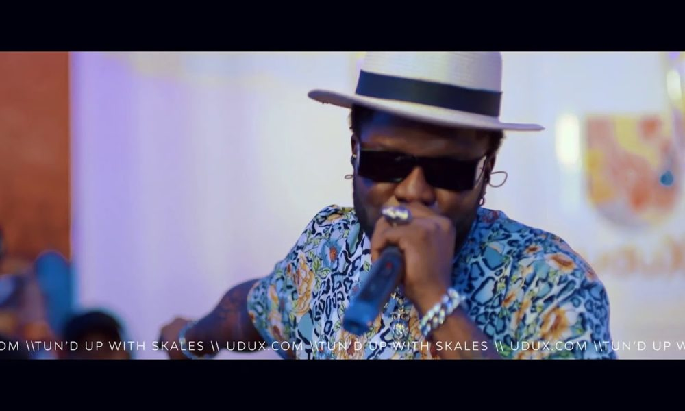"Skales performs Back to Back Hits on uduX's ""Tun'd Up"""