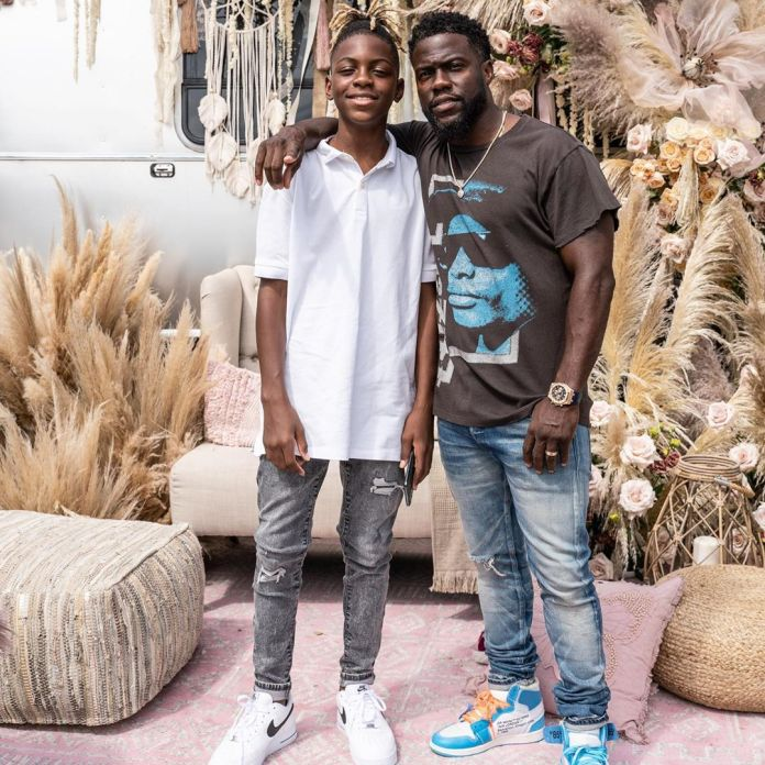 Eniko And Kevin Hart Living The Dream With Their Boho-Themed Baby Shower 7