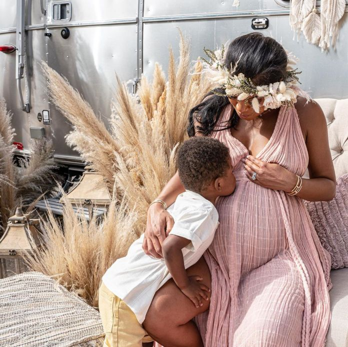 Eniko And Kevin Hart Living The Dream With Their Boho-Themed Baby Shower 9