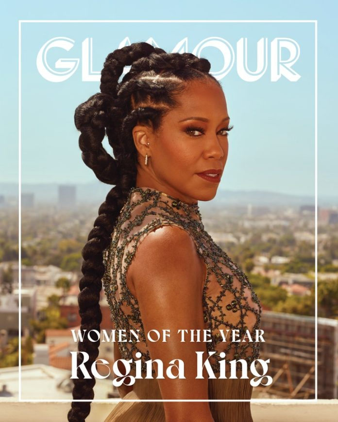 Regina King Gives Us Regal Vibes on The Cover of Glamour Magazine's Women Of The Year 1