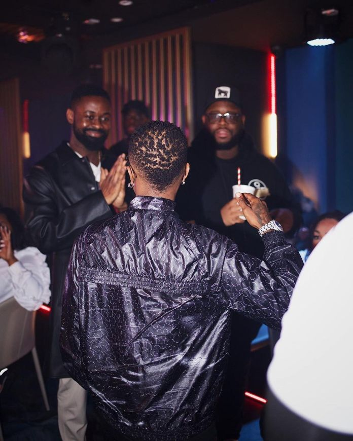 Don't Miss These Pics From Wizkid's Album Listening Party In London 2