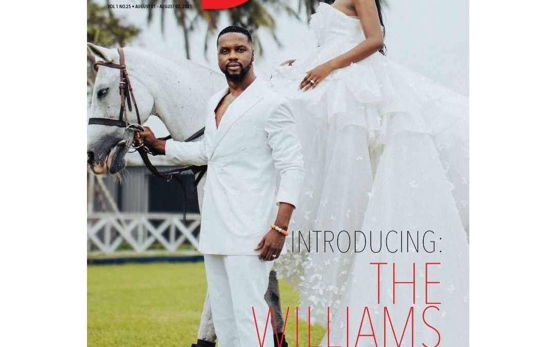Kehinde Daniel & Adebola Williams tell their Love Story as they cover TheWill Downtown Magazine