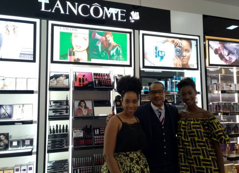 A Day with Lancôme's International Trainer David Coranson-Beaudu at the Beauty Bar by Essenza